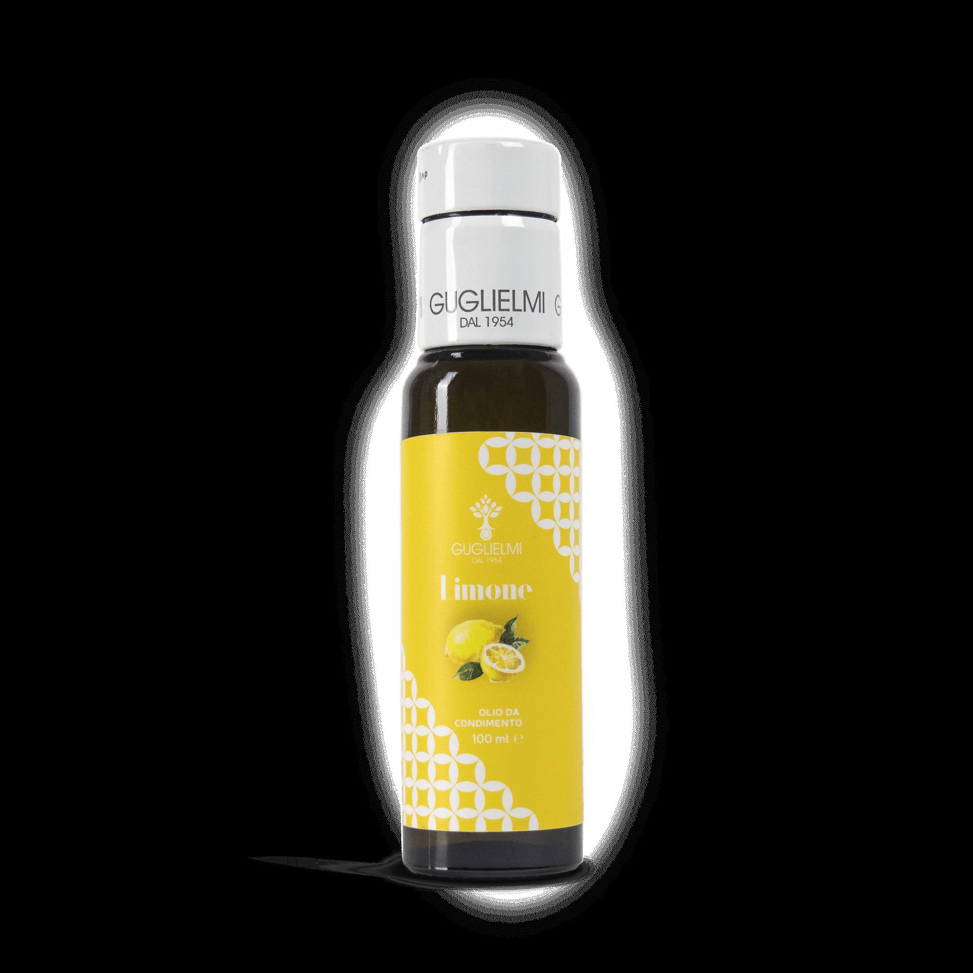 olio aromatico al limone olio guglielmi
