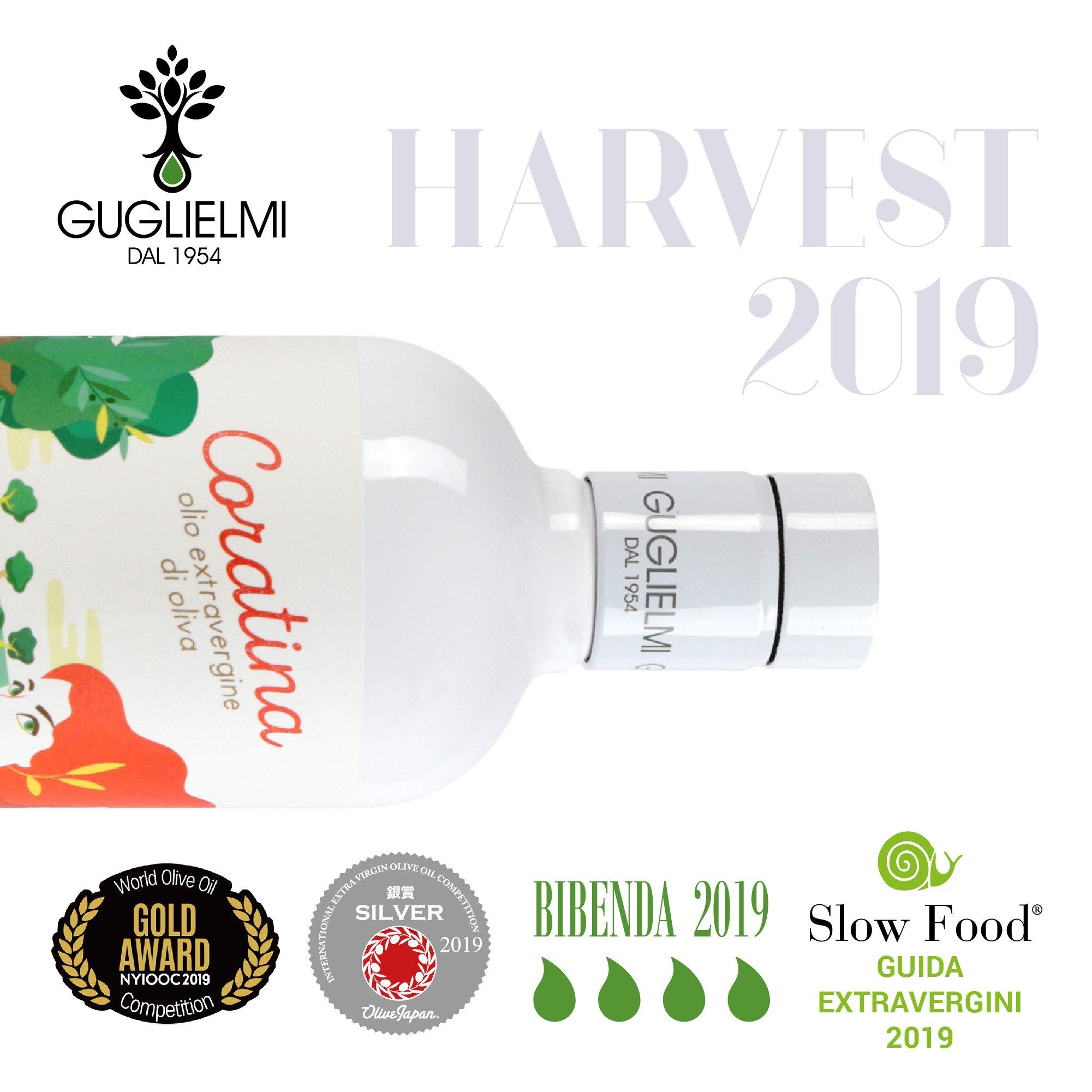 monocultivar coratina premi 2019 olio guglielmi