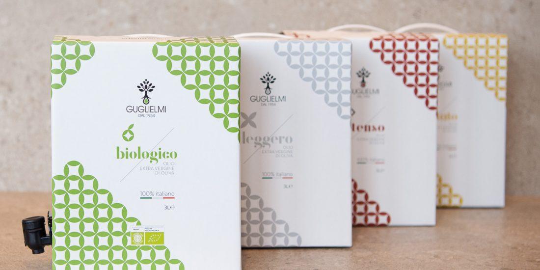 bag in box monogram olio extravergine di oliva olio guglielmi